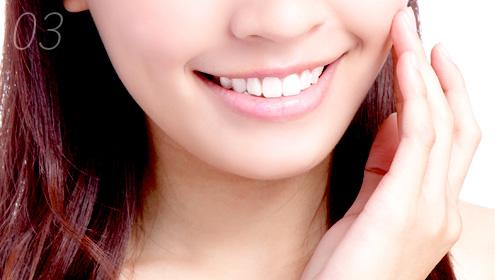 歯並びの美しさ
